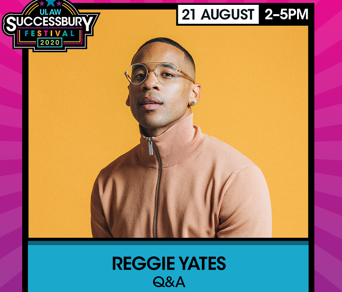 Reggie Yates at The University of Law's Successbury Festival 2020 to Welcome New Students